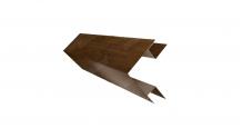 Доборные элементы (Блок-хаус/ЭкоБрус) Grand Line в Чебоксары Планка угла внешнего сложного (ЭкоБрус)