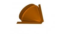Заглушки для полукруглого конька в Чебоксары Заглушка малая конусная