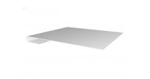Металлические доборные элементы для фасада в Чебоксары Планка завершающая простая 65мм