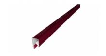 Планки П-образные для забора в цвете RAL 7005 мышино-серый Grand Line в Чебоксары П-образная заборная 17