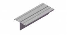 Фасадные профили GrandLine в Чебоксары Профиль вертикальный Т-образный