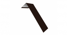 Металлические доборные элементы для фасада в Чебоксары Планка лобовая/околооконная простая 190х50